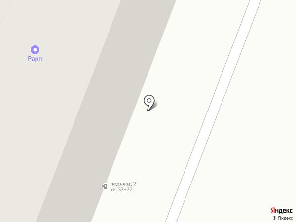 Роллер на карте Саратова