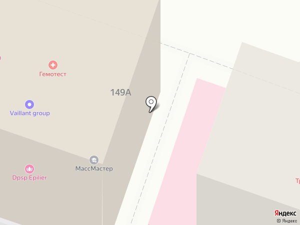 МТС на карте Саратова