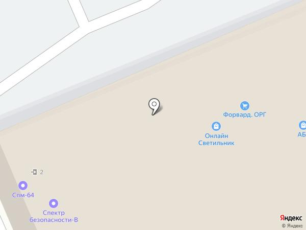 Цифровой мир на карте Саратова
