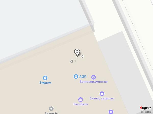 АБС Сервис-Монтаж на карте Саратова