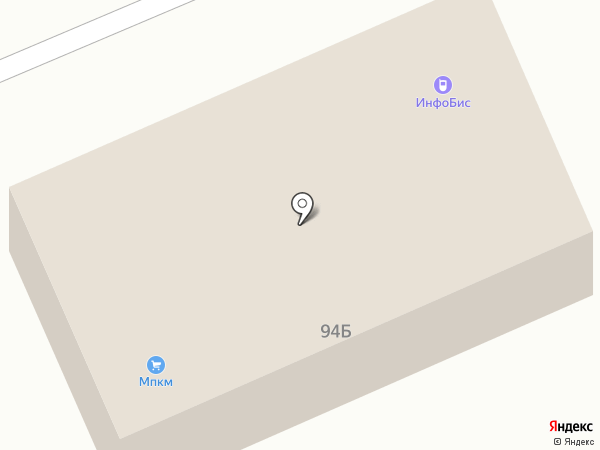 Инфобис на карте Саратова