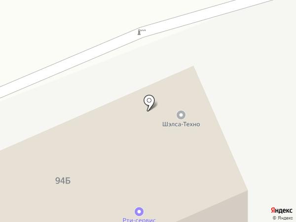 Дипчел на карте Саратова