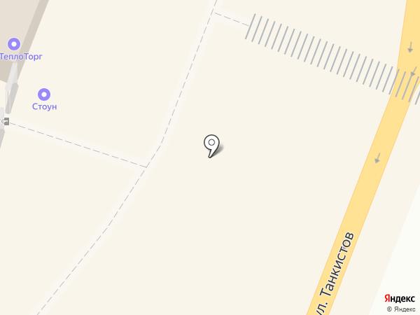 ГазТеплоТорг на карте Саратова