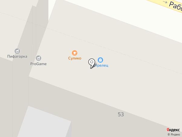 У Федота Стрельца на карте Саратова