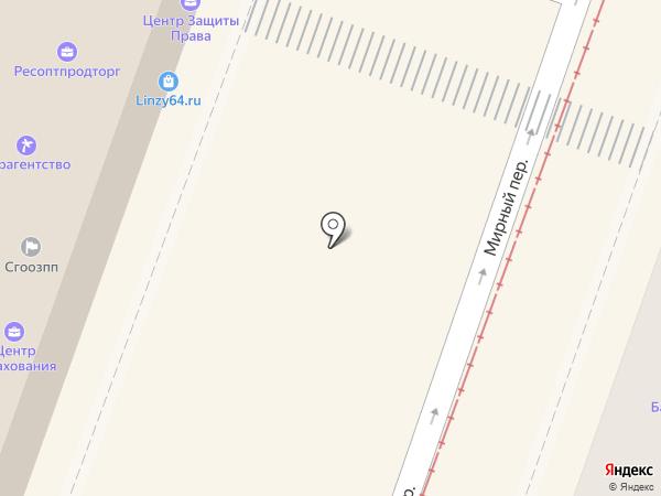 Regiweb на карте Саратова