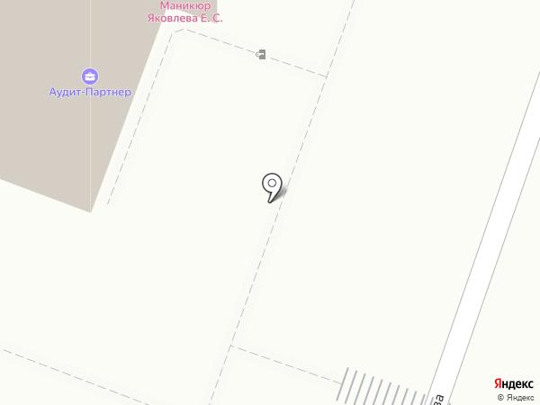 Астрант на карте Саратова