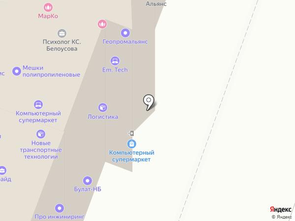 КБ Рублев на карте Саратова