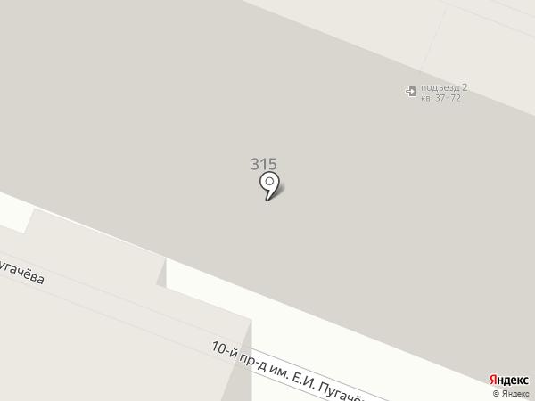 GSM-Центр на карте Саратова
