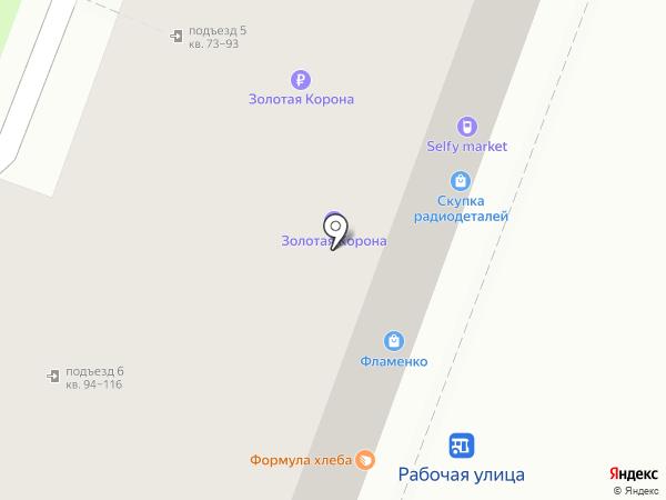 Капитал-Саратов на карте Саратова