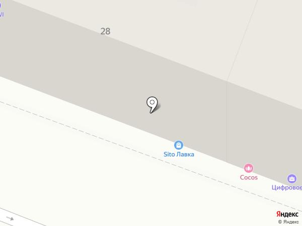 Вавилон на карте Саратова