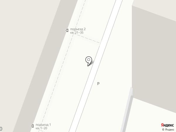 Lюминофор на карте Саратова