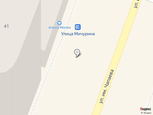 Carrera на карте Саратова