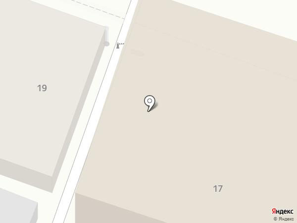 Афина на карте Саратова