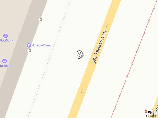 Витакон на карте Саратова
