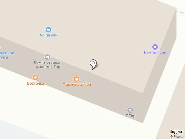 Краун на карте Саратова