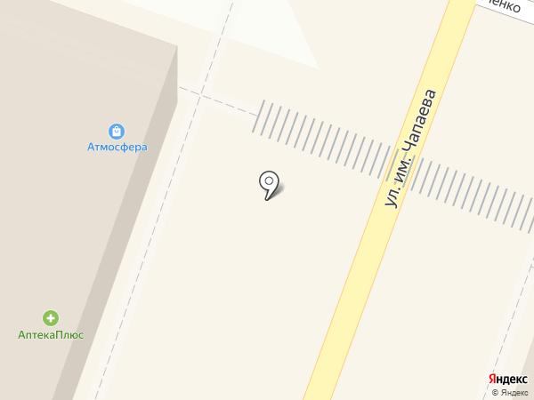 Атмосфера на карте Саратова