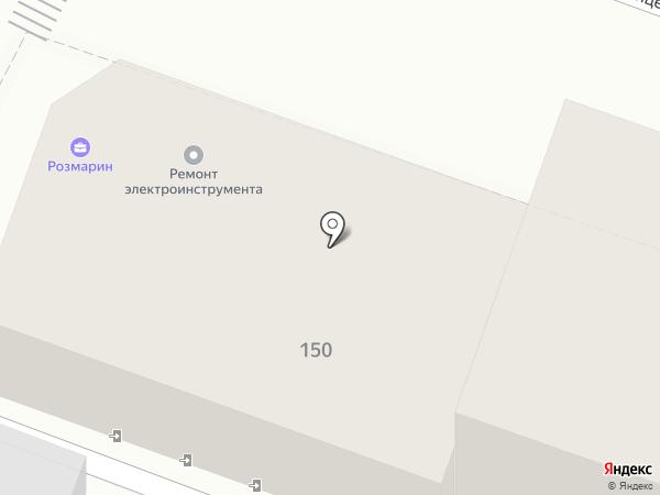 Овсянка на карте Саратова
