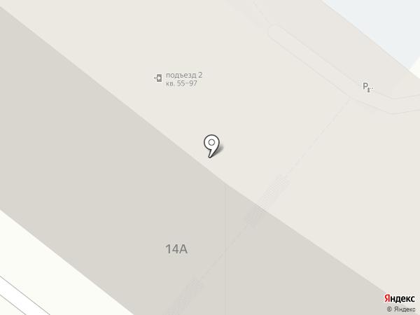Электротехстрой на карте Саратова