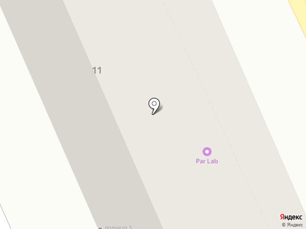 Интеграф на карте Саратова