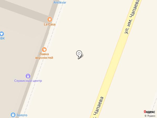 Горький на карте Саратова