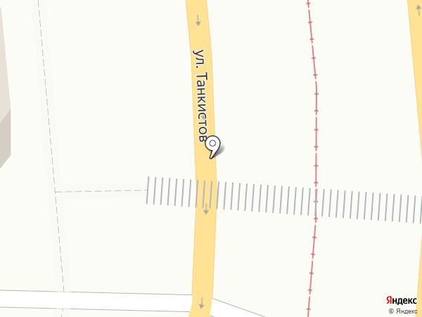 Инсталаб на карте Саратова