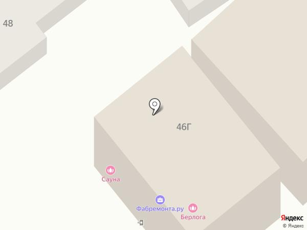 Строитель-2000 на карте Саратова