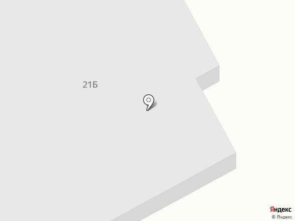 Технодача на карте Саратова