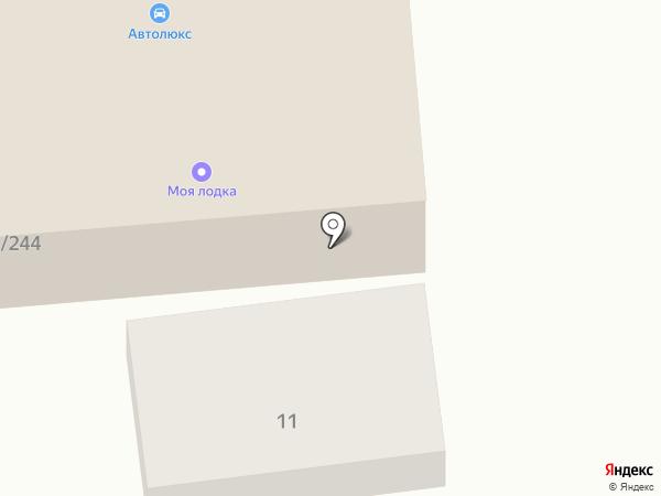 Дровосек на карте Саратова