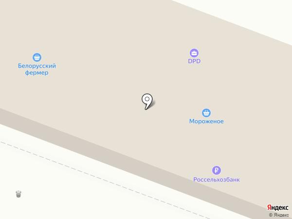 Гроздь на карте Саратова
