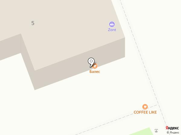 Копир центр на карте Саратова