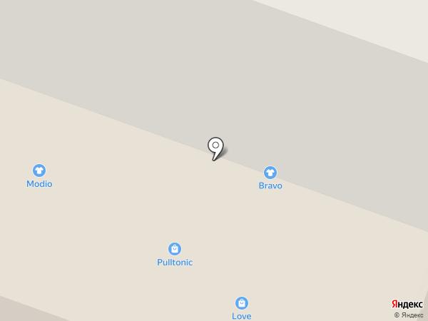 Кожетта на карте Саратова