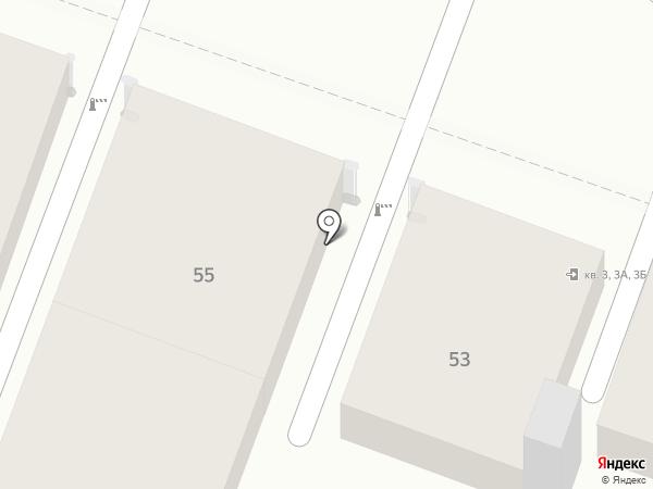 Автостоянка на Киселева на карте Саратова