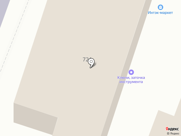 Магазин печатной продукции на карте Саратова