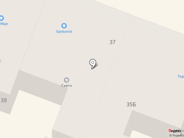 Элегант на карте Саратова