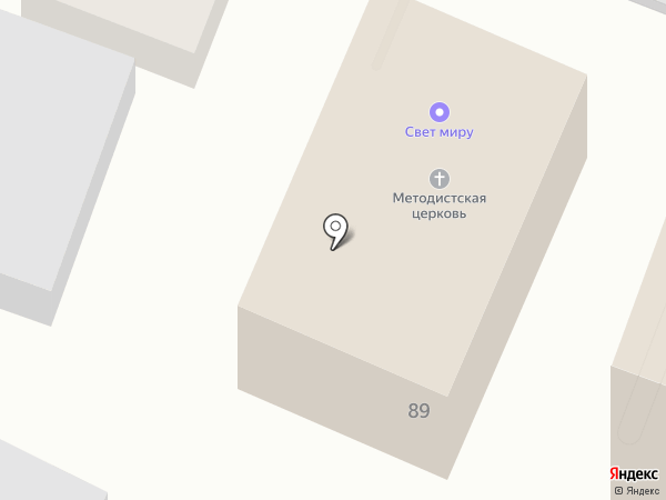 Автомодуль на карте Саратова
