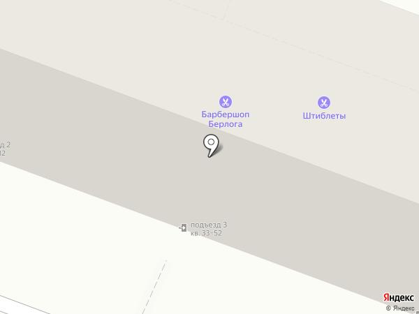 Барс на карте Саратова