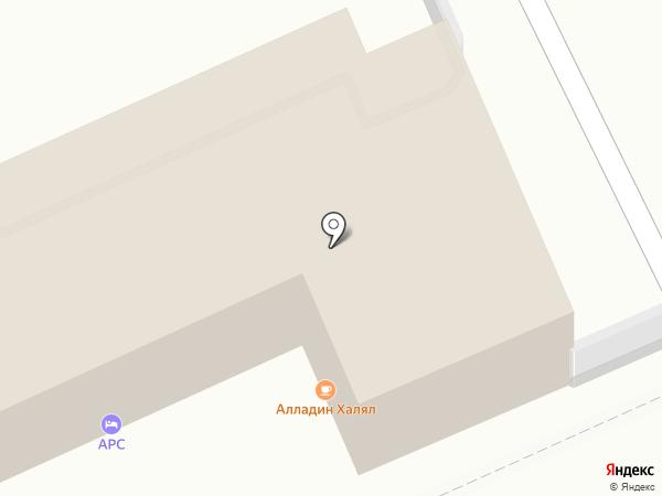 АРС на карте Саратова