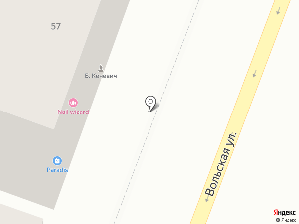 МодистКа на карте Саратова