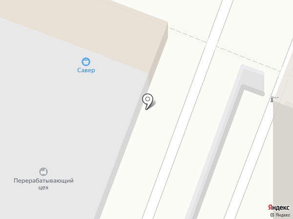 Магазин по продаже мяса на карте Саратова