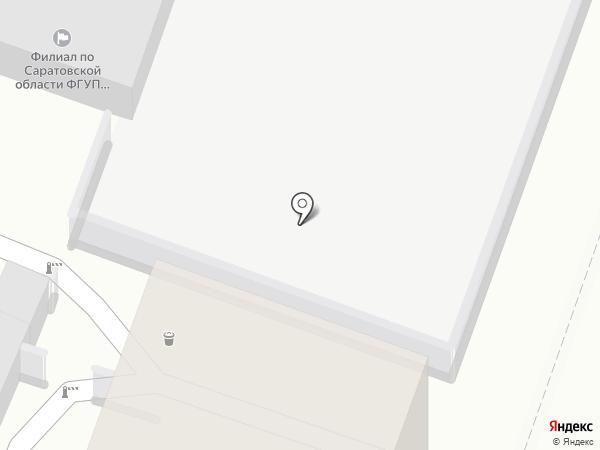 Автознак-2 на карте Саратова