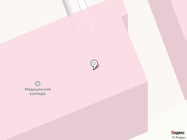 Саратовский медицинский колледж на карте Саратова
