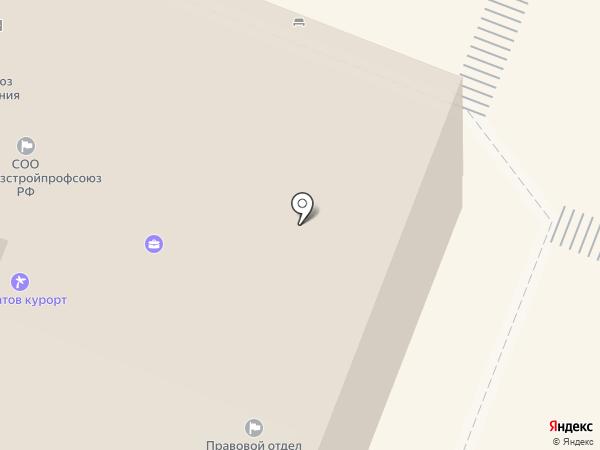 Саратовская городская профсоюзная организация комитета здравоохранения на карте Саратова