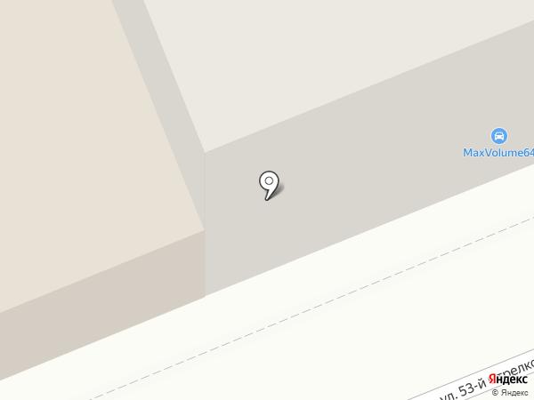 MaxVolume64 на карте Саратова