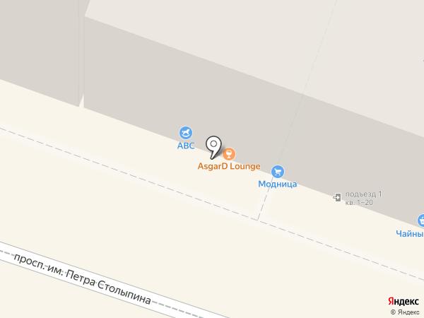 ABC на карте Саратова