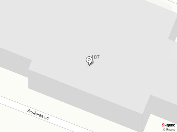 Саратовское такси на карте Саратова