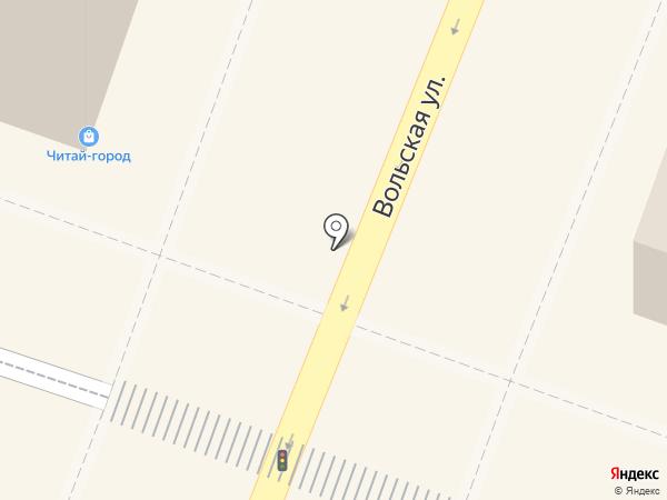 Российская газета на карте Саратова