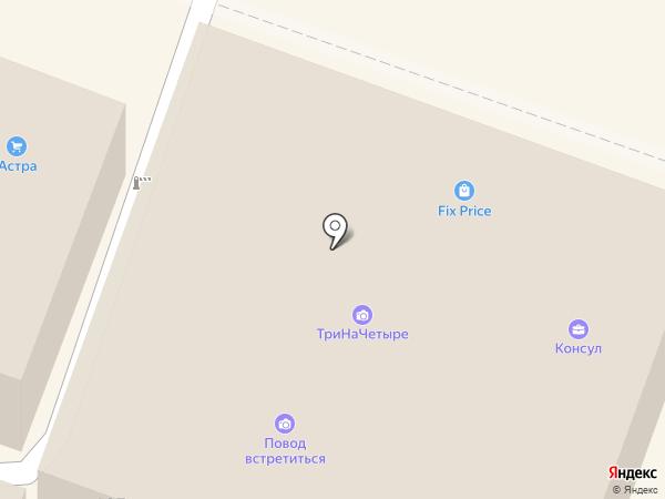 Мир халатов на карте Саратова