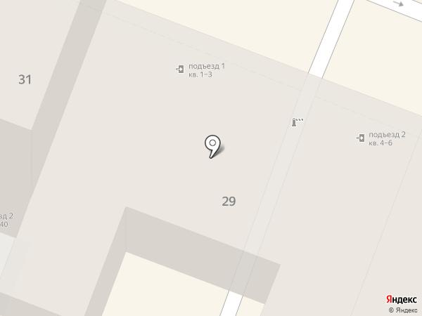Мята на карте Саратова