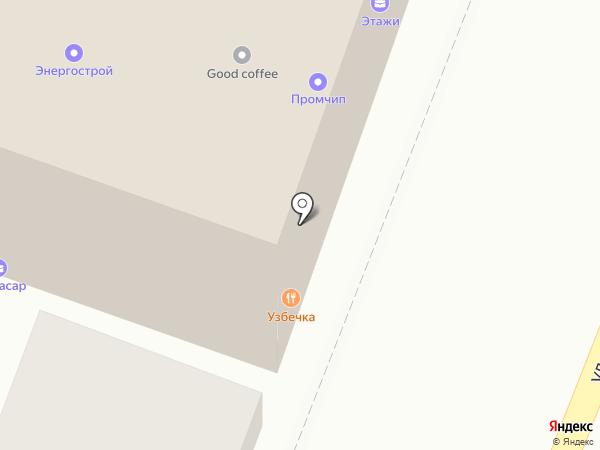 Алькасар на карте Саратова
