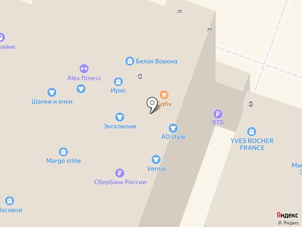 Вонлайне на карте Саратова
